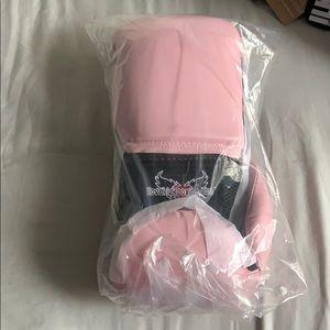 ILKB Pink 12 oz Kickboxing Gloves